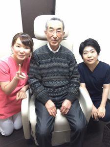 培養幹細胞治療を受けた患者さま